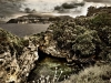 Panorama dell' area archeologica della Regina Giovanna a Sorrento
