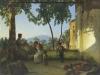 14 Vista della Penisola Sorrentina da un porticato di Silvestr Scedrin