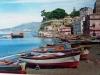 Antico panorama della Marina Grande di Sorrento