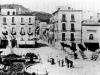 Fotografia antica della piazza Tasso di Sorrento