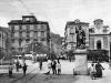 Piazza Tasso a Sorrento agli inizi del novecento