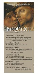 Pasqua 2011 Chiesa di Nostra Signora di Lourdes a Sorrento