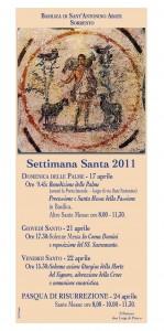 Pasqua 2011 Basilica di Sant' Antonino a Sorrento