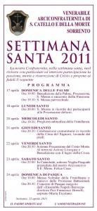 Pasqua 2011 Chiesa dei servi di Maria, Pasqua a Sorrento