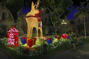 Babbo Natale e regali a Sorrento