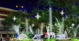 Shopping di Natale in Piazza Lauro a Sorrento