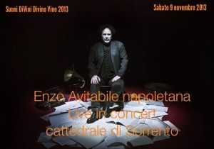 Sorrento e il concerto di Enzo Avitabile
