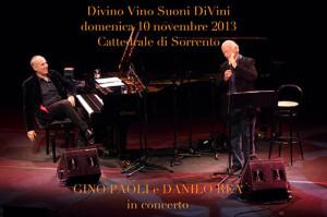 Concerto di Gino Paoli a Sorrento