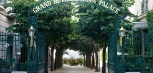 Ingresso Albergo Europa Palace di Sorrento
