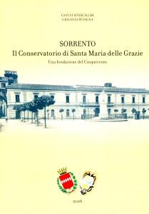 La copertina del libro dedicato al Conservatorio di s. Maria delle Grazie a Sorrento