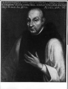 Ritratto di Ferdinando Ughelli