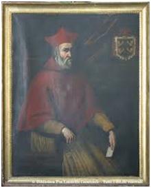 Il ritratto del falso cardinale Landulfo Bracaccio