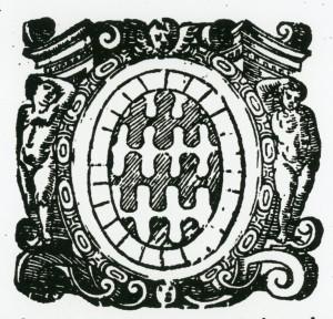 Lo stemma dei Bulcano proposto nella prima edizione dell' Opera di Scipione Mazzella