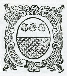 Lo stemma dei Vulcano proposto nella seconda edizione dell' opera del Mazzella