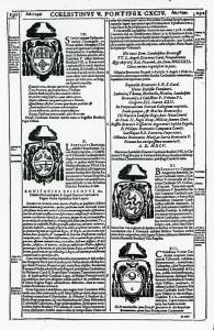 La pagina dedicata dal Ciacconio al Landulfo Brancaccio