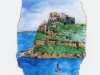 Isola di Ischia, castello - Carte da Gioco Sorrento