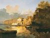 7 Veduta dei dintorni di Sorrento vista di sera