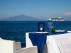 Mangiare in riva al mare a Sorrento